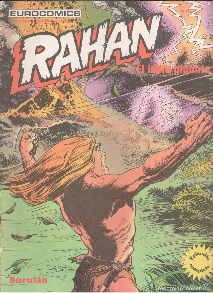 RAHAN Nº 5 BURU LAN (Tebeos y Comics - Buru-Lan - Rahan)