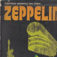 Cómics: ZEPPELIN Nº 2 REVISTA MENSUAL DEL COMIC - EDITA : BURU LAN EDICIONES 1974. Lote 57619111