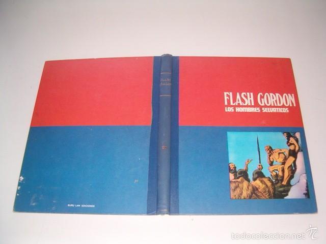JAVIER DE ARAMBURU (DIR.). HÉROES DEL CÓMIC. FLASH GORDON: LOS HOMBRES SELVÁTICOS. TOMO 2. RM75432. (Tebeos y Comics - Buru-Lan - Flash Gordon)