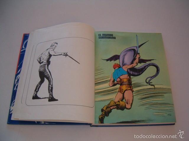 Cómics: JAVIER DE ARAMBURU (DIR.). Héroes del Cómic. Flash Gordon: Los hombres selváticos. Tomo 2. RM75432. - Foto 3 - 57832524