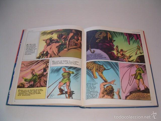 Cómics: JAVIER DE ARAMBURU (DIR.). Héroes del Cómic. Flash Gordon: Los hombres selváticos. Tomo 2. RM75432. - Foto 4 - 57832524
