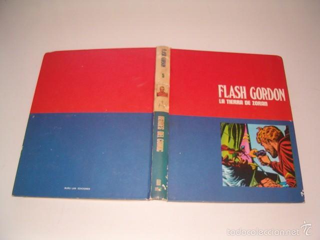 JAVIER DE ARAMBURU (DIR.). HÉROES DEL CÓMIC. FLASH GORDON: LA TIERRA DE ZORAN. TOMO 5. RM75512. (Tebeos y Comics - Buru-Lan - Flash Gordon)