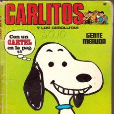 Comics: CARLITOS Y LOS CEBOLLITAS – Nº2 – GENTE MENUDA. Lote 57934690