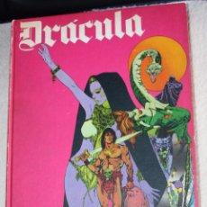 Cómics: DRACULA (BURULAN - 1971). TOMO ENCUADERNADO DE 275 PÁGINAS ( EXCELENTE). Lote 57995005