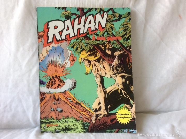 RAHAN EL ÍDOLO GIGANTE BURU LAN EDICIONES (Tebeos y Comics - Buru-Lan - Rahan)