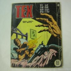 Cómics: TEX - EL AS DE PIC. Nº 55. 1ª EDICION - EDICIONES BURU LAN. 1972. Lote 58160079