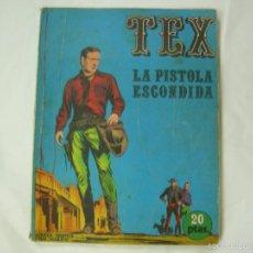 Cómics: TEX - LA PISTOLA ESCONDIDA. Nº 7. 1ª EDICION - EDICIONES BURU LAN. 1970. Lote 58160218