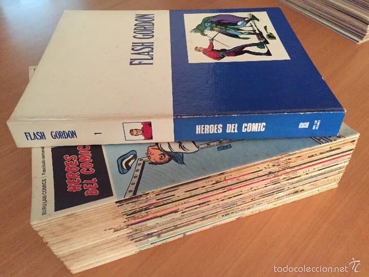 FLASH GORDON- BURULAN, 1971 TOMO 1 + 24 SUELTOS + TODOS 20 TOMO 0 SIN ENCUADERNAR (Tebeos y Comics - Buru-Lan - Flash Gordon)