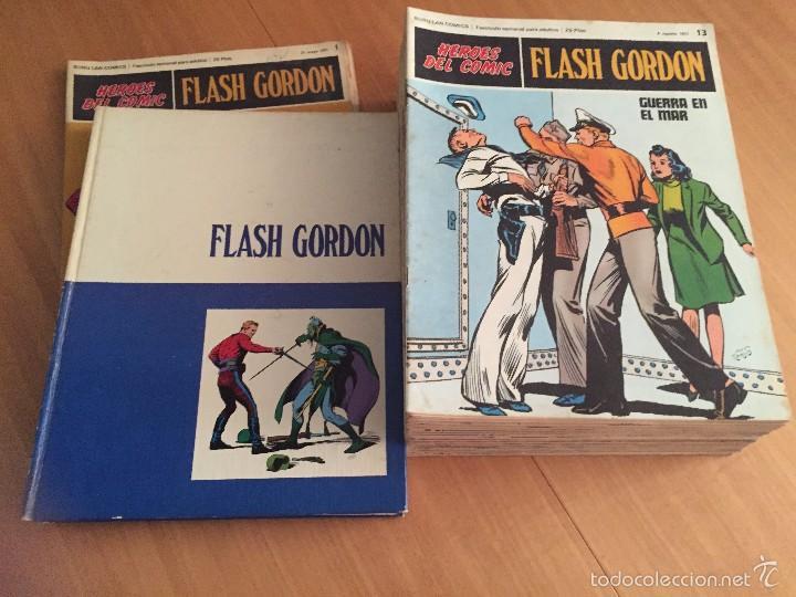 Cómics: Flash Gordon- BURULAN, 1971 Tomo 1 + 24 sueltos + Todos 20 tomo 0 SIN ENCUADERNAR - Foto 2 - 58299455