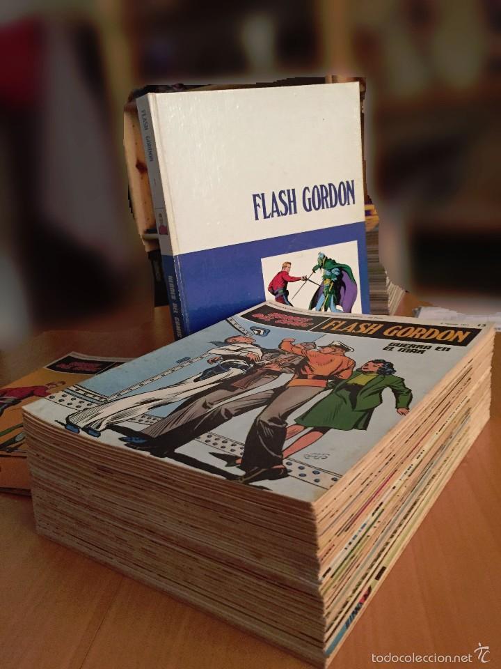 Cómics: Flash Gordon- BURULAN, 1971 Tomo 1 + 24 sueltos + Todos 20 tomo 0 SIN ENCUADERNAR - Foto 3 - 58299455
