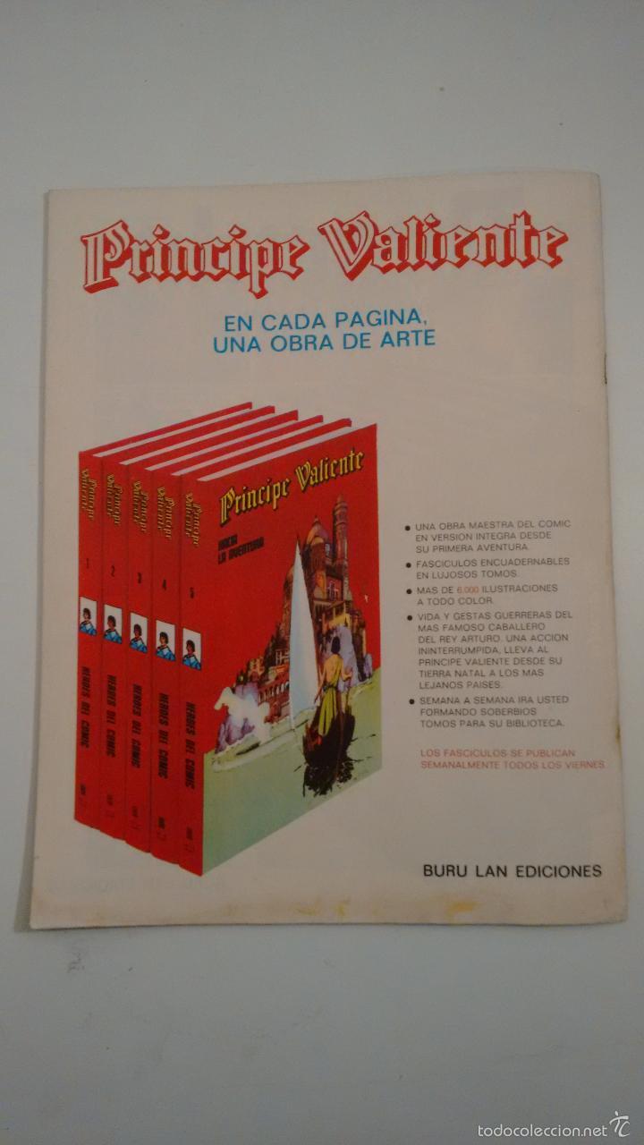 Cómics: HEROES DEL COMIC. EL HOMBRE ENMASCARADO Nº 62. PRISIONEROS DE KALI. 1972 BURU LAN. - Foto 3 - 58381858