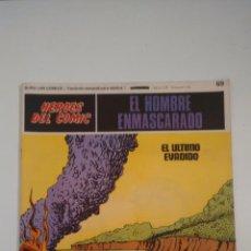 Fumetti: HEROES DEL COMIC. EL HOMBRE ENMASCARADO Nº 69. EL ULTIMO EVADIDO. 1972 BURU LAN.. Lote 58381896