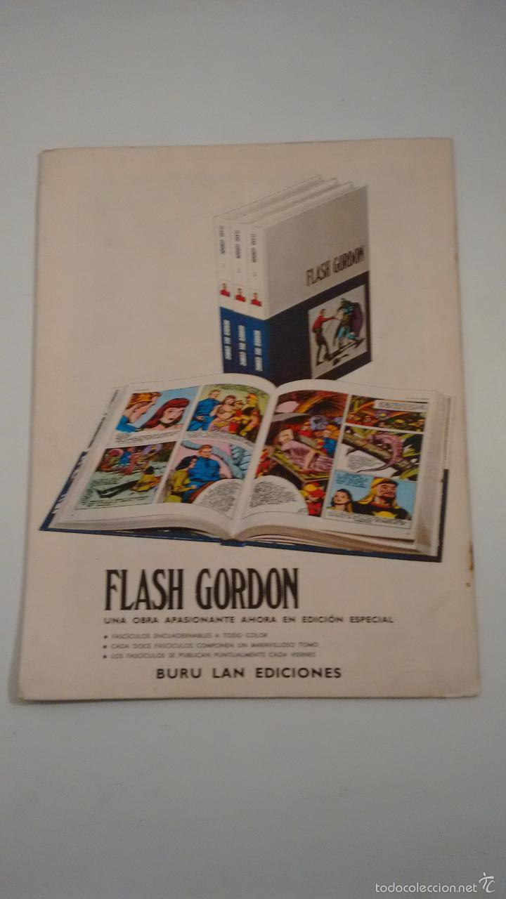Cómics: HEROES DEL COMIC. FLASH GORDON Nº 32. MOMENTOS DE ANGUSTIA. 1971 BURU LAN. - Foto 2 - 58382406