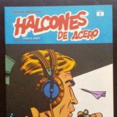 Cómics: HALCONES DE ACERO HÉROES DEL CÓMIC TOMO 1 Nº 2 BURULAN EDICIONES 1974 AÑOS 70. Lote 58428469