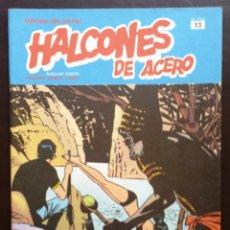 Cómics: HALCONES DE ACERO HÉROES DEL CÓMIC TOMO 2 Nº 13 BURULAN EDICIONES 1974 AÑOS 70. Lote 58428508