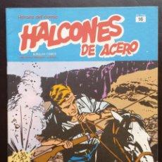 Cómics: HALCONES DE ACERO HÉROES DEL CÓMIC TOMO 2 Nº 16 BURULAN EDICIONES 1974 AÑOS 70. Lote 58428536