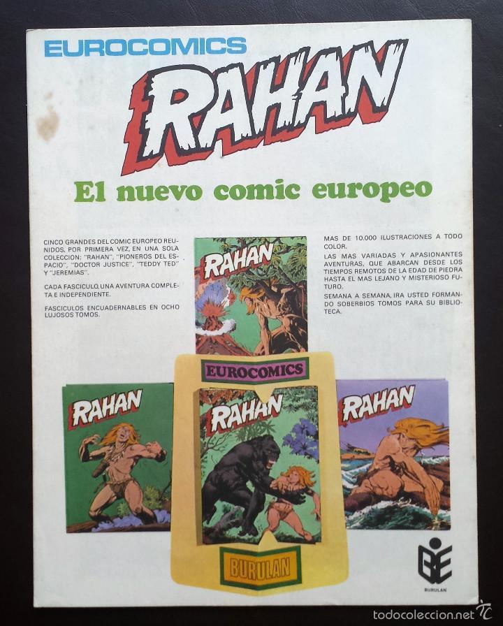 Cómics: HALCONES DE ACERO Héroes del cómic Tomo 2 Nº 16 BURULAN Ediciones 1974 Años 70 - Foto 2 - 58428536