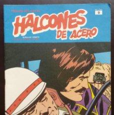 Cómics: HALCONES DE ACERO HÉROES DEL CÓMIC TOMO 1 Nº 9 BURULAN EDICIONES 1974 AÑOS 70. Lote 58428567