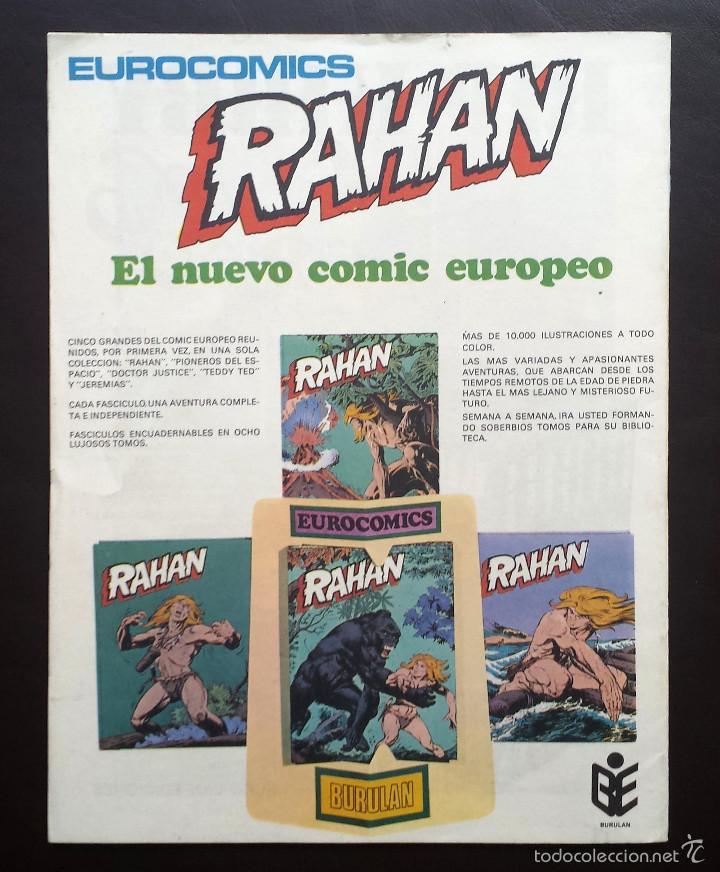 Cómics: HALCONES DE ACERO Héroes del cómic Tomo 1 Nº 9 BURULAN Ediciones 1974 Años 70 - Foto 2 - 58428567