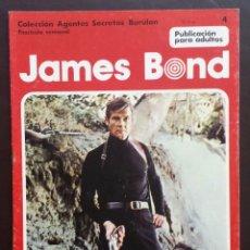 Cómics: JAMES BOND COLECCIÓN AGENTES SECRETOS TOMO 1 Nº 4 BURULAN EDICIONES 1974 AÑOS 70. Lote 58428923