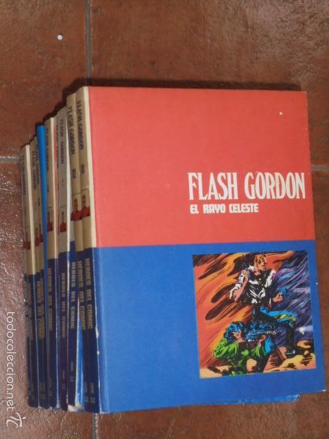 FLASH GORDON COMPLETA 11 TOMOS BURULAN BURU-LAN (Tebeos y Comics - Buru-Lan - Flash Gordon)