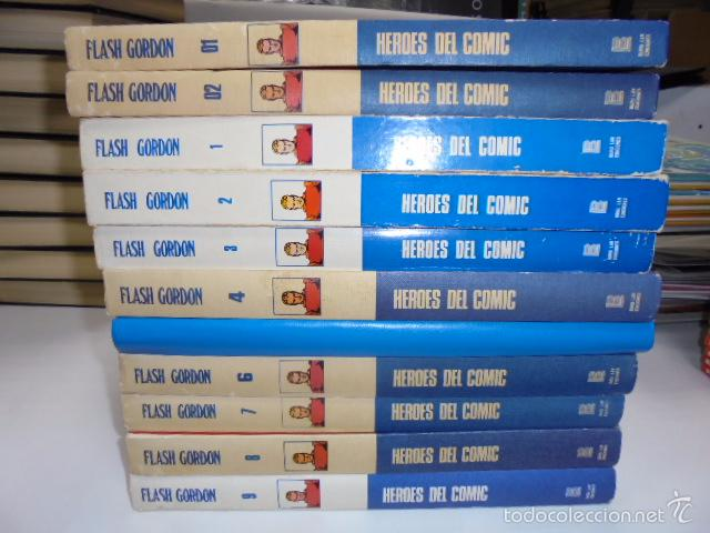 Cómics: FLASH GORDON COMPLETA 11 TOMOS BURULAN BURU-LAN - Foto 2 - 75065931