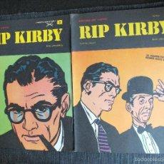 Cómics: RIP KIRBY LOTE CON LOS 2 PRIMEROS NÚMEROS DE LA COLECCIÓN Nº 1 Y Nº 2 , BURU LAN BURULAN 1973. Lote 59424615