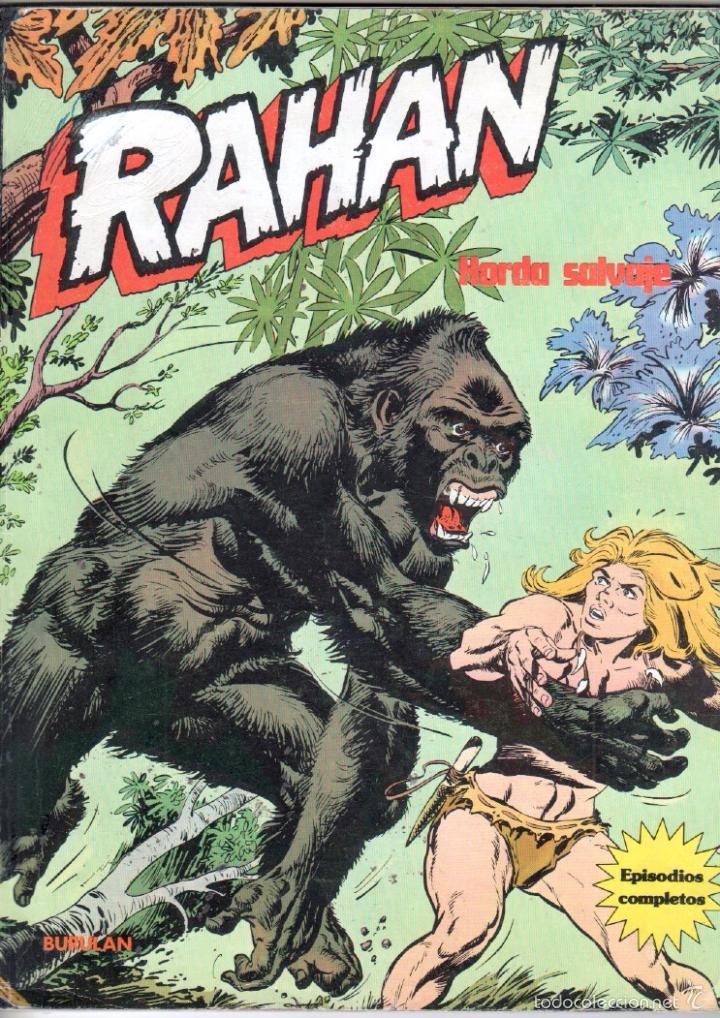 RAHAN , BURULAN 1974 - 4 TOMOS DE 60 PÁGINAS UNIDAD, VER IMAGENES (Tebeos y Comics - Buru-Lan - Rahan)