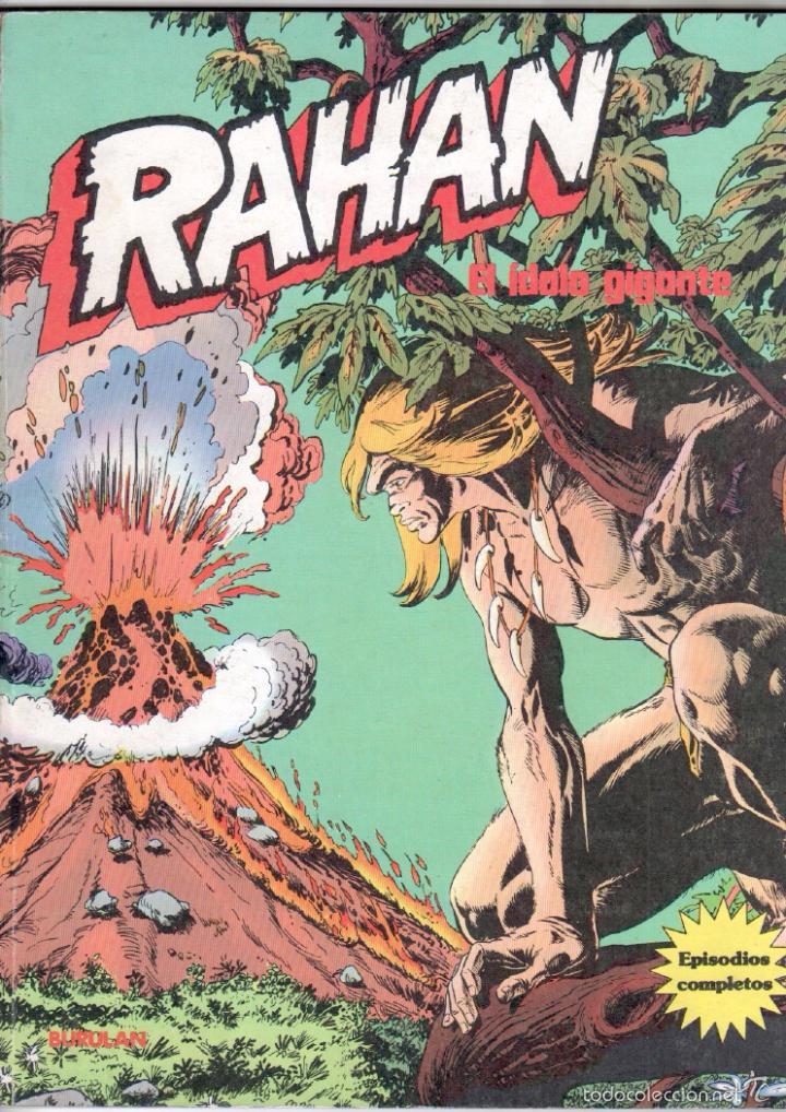 Cómics: RAHAN , BURULAN 1974 - 4 TOMOS DE 60 PÁGINAS UNIDAD, VER IMAGENES - Foto 4 - 59756880