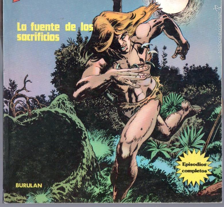 Cómics: RAHAN , BURULAN 1974 - 4 TOMOS DE 60 PÁGINAS UNIDAD, VER IMAGENES - Foto 7 - 59756880