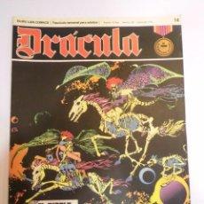 Cómics: DRACULA - NUM 14 - BURU LAN. Lote 60274295