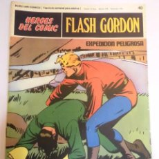 Cómics: FLASH GORDON - NUM 40 - COLECCION HEROES DEL COMIC - BURU LAN - AÑOS 70. Lote 60275079