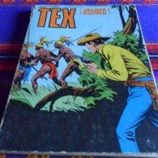 Cómics: TEX Nº 91, EL PENÚLTIMO. BURU LAN 1974. ATAQUE. DIFÍCIL.. Lote 60343091
