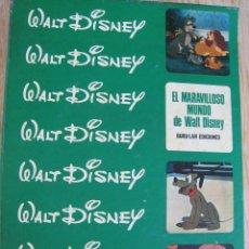 Cómics: EL MARAVILLOSO MUNDO DE WALT DISNEY-BURU LAN EDICIONES. Lote 60439967