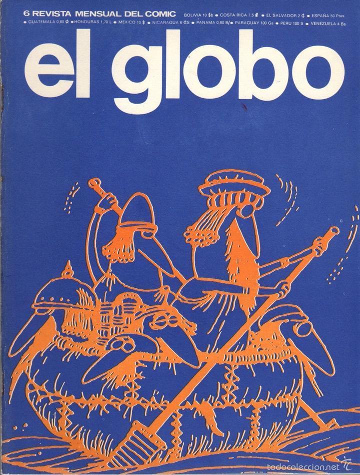 COMIC EL GLOBO. Nº 6. AÑO 1973 (Tebeos y Comics - Buru-Lan - Otros)