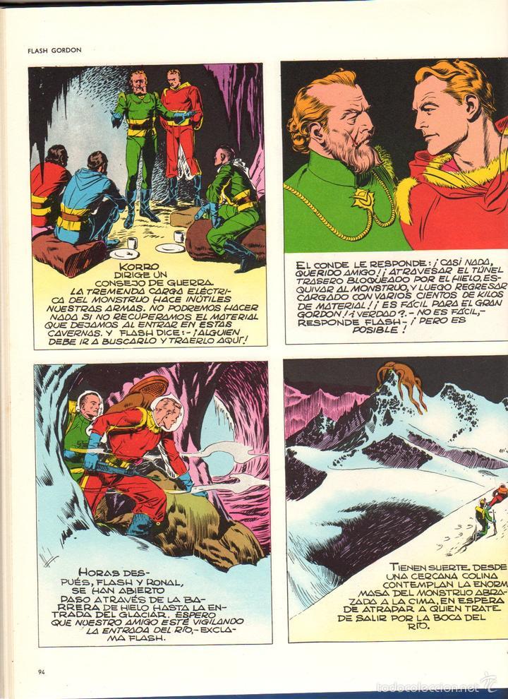 Cómics: FLASH GORDON. HEROES DEL COMIC. TOMO 1. AÑO 1971 - Foto 2 - 61013059