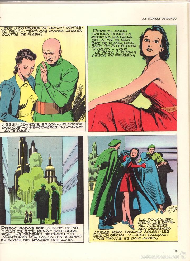 Cómics: FLASH GORDON. HEROES DEL COMIC. TOMO 1. AÑO 1971 - Foto 3 - 61013059