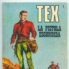 Cómics: TEX - Nº 7 - LA PISTOLA ESCONDIDA - BURU LAN - 1971. Lote 61029455