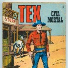 Cómics: TEX - Nº 11 - CITA MORTAL - BURU LAN - 1971. Lote 61029847