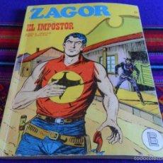 Cómics: ZAGOR Nº 21 EL IMPOSTOR. BURU LAN 1972. 25 PTS.. Lote 61073539