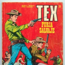 Cómics: TEX - Nº 14 - FURIA SALVAJE - BURU LAN - 1971. Lote 61281335