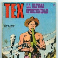 Cómics: TEX - Nº 21 - LA ÚLTIMA OPORTUNIDAD - BURU LAN - 1971. Lote 61281607