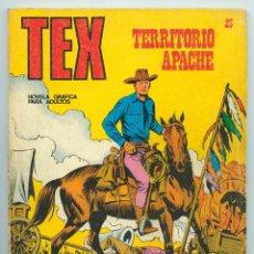 Cómics: TEX - Nº 23 - TERRITORIO APACHE - BURU LAN - 1971. Lote 61281839