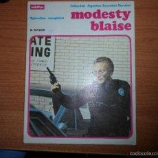 Cómics: MODESTY BLAISE EL TRAIDOR EPISODIOS COMPLETOS ALBUM TOMO NUMERO 4 ED. BURULAN 1974 BURU LAN. Lote 61333267