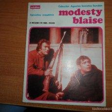 Cómics: MODESTY BLAISE EL TRAIDOR EPISODIOS COMPLETOS ALBUM TOMO NUMERO 3 ED. BURULAN 1974 BURU LAN. Lote 61333303