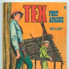 Cómics: TEX - Nº 26 - FORT APACHE - BURU LAN - 1971. Lote 61355441