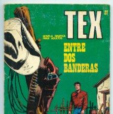 Cómics: TEX - Nº 27 - ENTRE DOS BANDERAS - BURU LAN - 1971. Lote 61355471