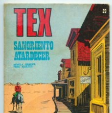 Cómics: TEX - Nº 29 - SANGRIENTO ATARDECER - BURU LAN - 1971. Lote 61355564
