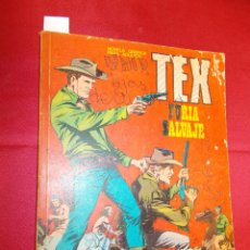 Comics: TEX. Nº 14. FURIA SALVAJE. BURU LAN. 1971.. Lote 61504839