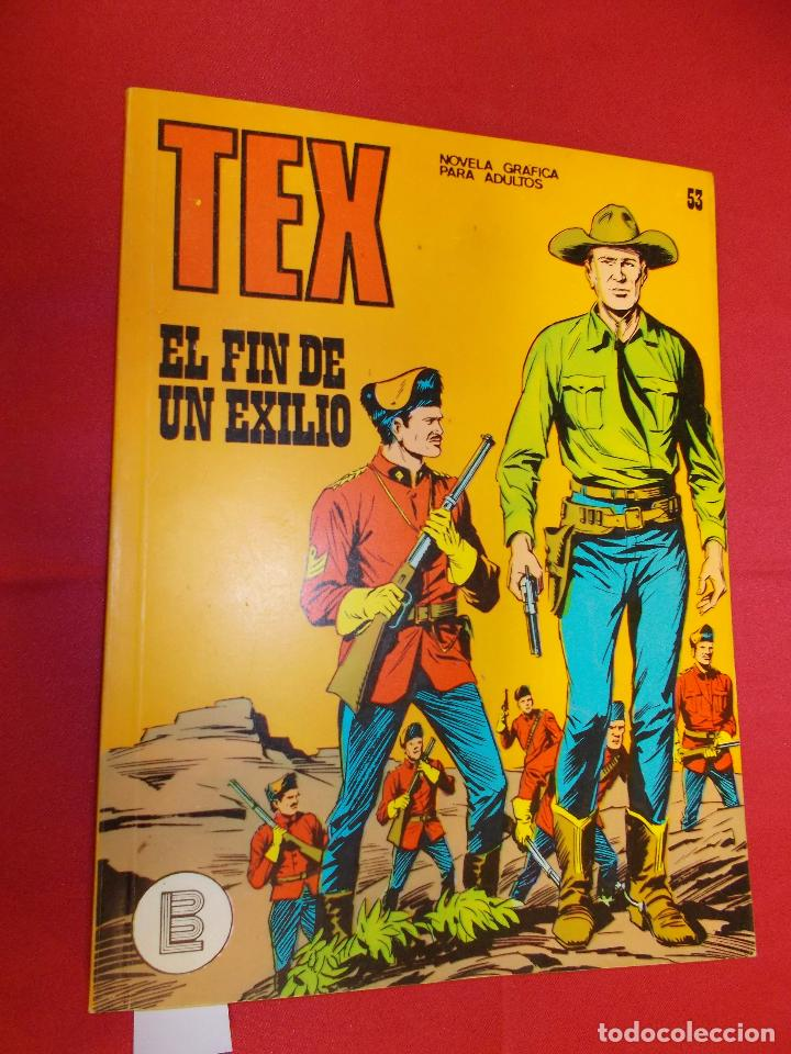 TEX. Nº 53. EL FIN DE UN EXILIO. BURU LAN. (Tebeos y Comics - Buru-Lan - Zagor)
